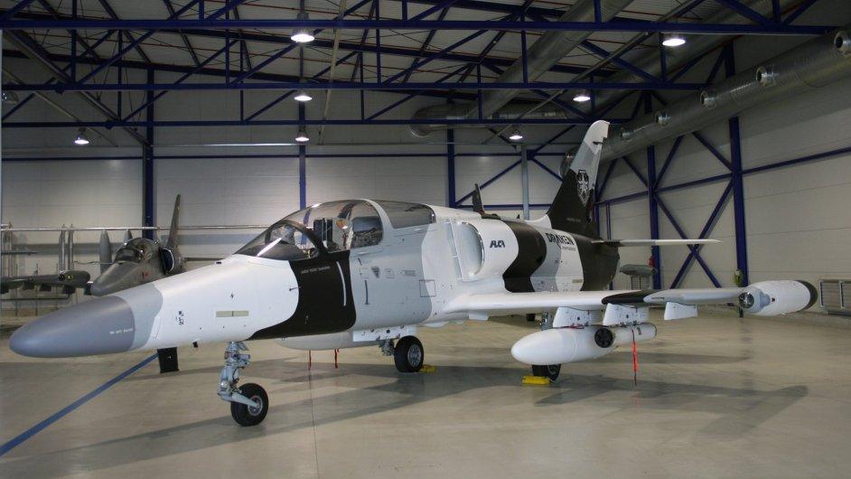 Cvičný letoun L-159 pro Draken