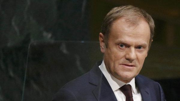 Podle Tuska je návrh dobrým základem ke kompromisnímu řešení britských požadavků.