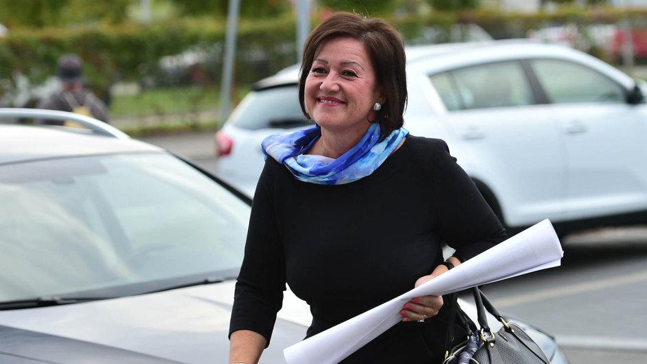 Radmila Kleslová, donedávna místopředsedkyně hnutí ANO.