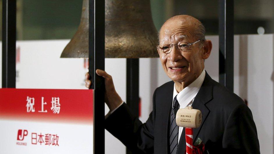 Šéf celého holdingu Taizo Nišimuro.