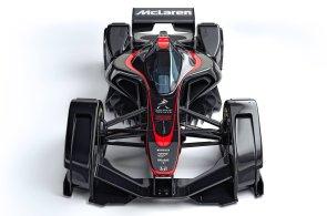 Formule 1 budoucnosti bude mít solární panely a krytý kokpit