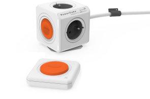 Powercube je netradiční rozdvojka s dálkovým ovládáním bez baterie