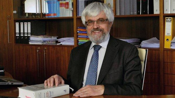 Pavel Šámal, předseda Nejvyššího soudu.
