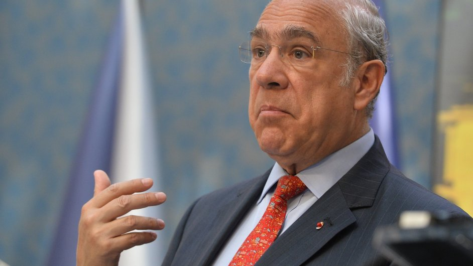 Ángel Gurría, Praha, OECD