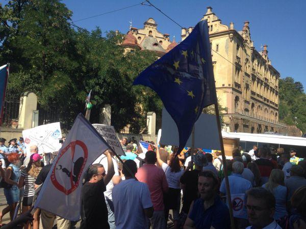 Merkelová protestanti