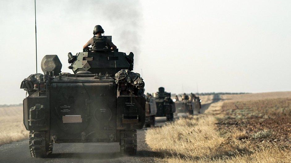 Turecko, Sýrie, boje