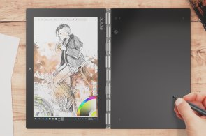 Lenovo ukázalo odvážný notebook pro mladé, nemá klávesnici, ale dá se na něj čmárat