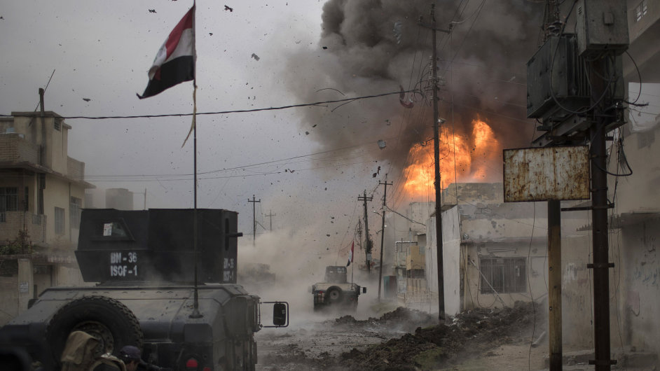 Irák, boje, Mosul