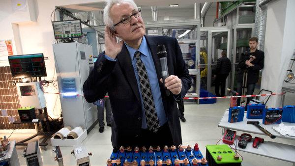 Otec české baterie Jan Procházka