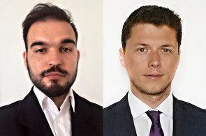 Jozef Petráš a Dominik Čuba, marketingové a obchodní oddělení společnosti ACREA CR