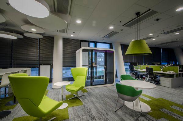 Společnost Oracle se zabydluje v moderním kancelářském parku Aviatika v pražských Jinonicích