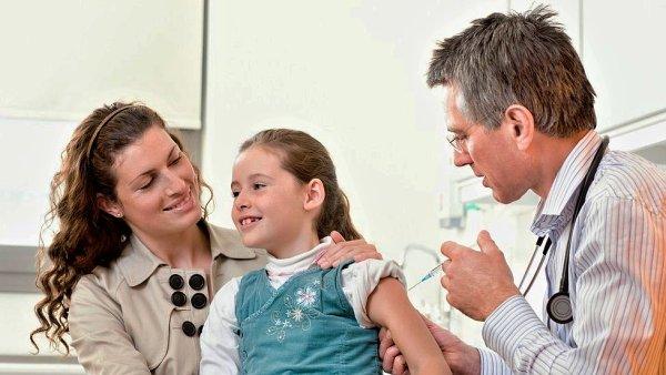 Dítě u lékaře, ilustrační foto