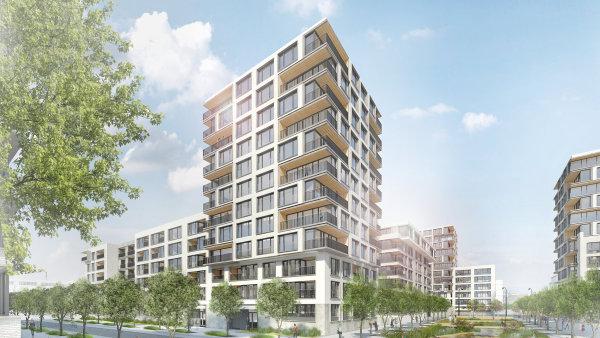 Developer v severní části nákladového nádraží vybuduje až 2600 bytů.
