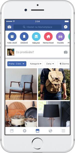 Nová platforma Facebook Marketplace zahajuje provoz v Česku.