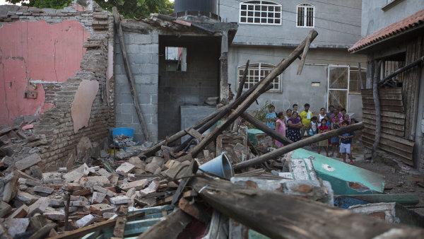 Stát Oaxaca v Mexiku zasáhlo zemětřesení