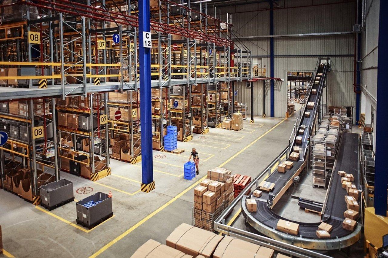 Logistické centrum Lidl Plzeň