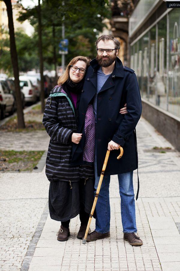 """""""Přemýšlíme, jestli zůstat v Praze anebo ne. Já pocházím ze Spojených států, můj manžel je z Británie, ale už tu žijeme dlouhou dobu..."""""""