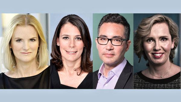 Kasia Kieli, Marinella Soldi, James Gibbons a Victoria Davies, společnost Discovery Communications