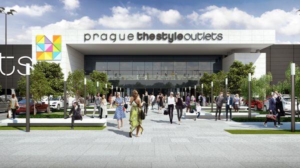 Outlet u pražského letiště se má otevřít v dubnu 2018