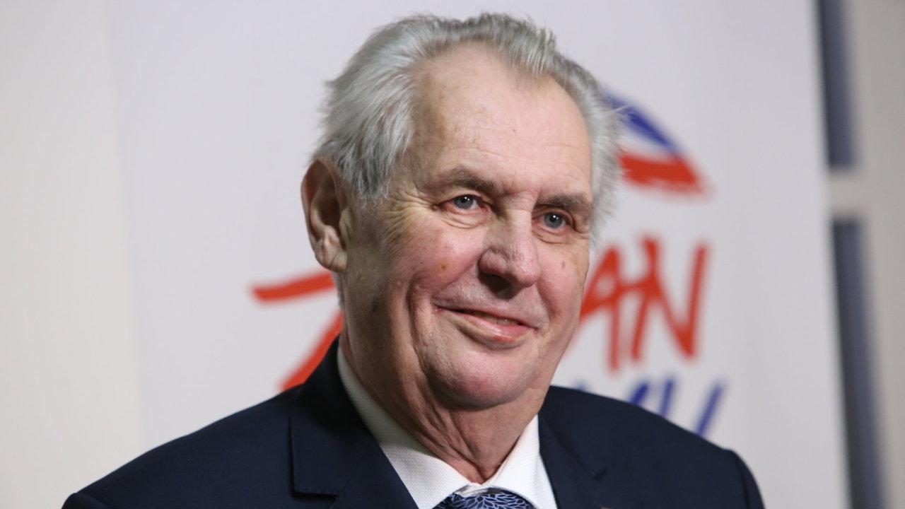 Miloš Zeman, volební štáb
