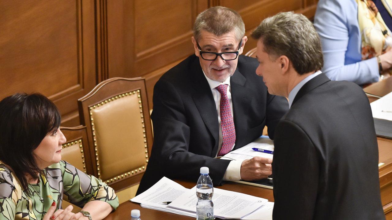 Andrej Babiš, Schillerová Alena, finance