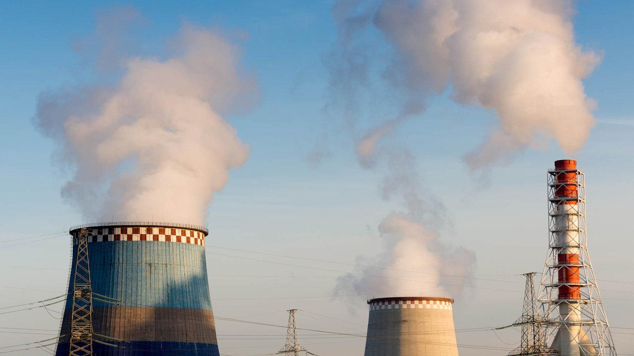 Běžně si velké firmy musí kupovat jednu povolenku nakaždou tunu CO2 vypuštěnou doovzduší.