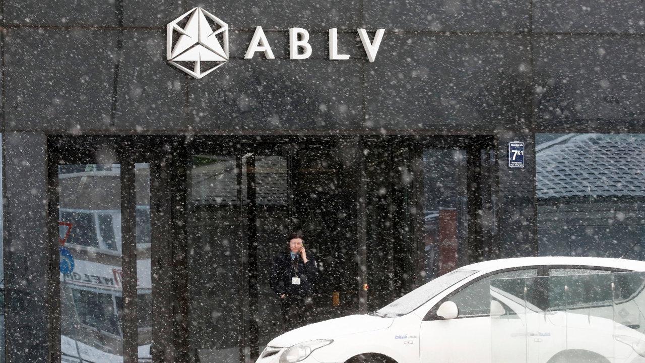 Sídlo lotyšské banky ABLV v Rize.