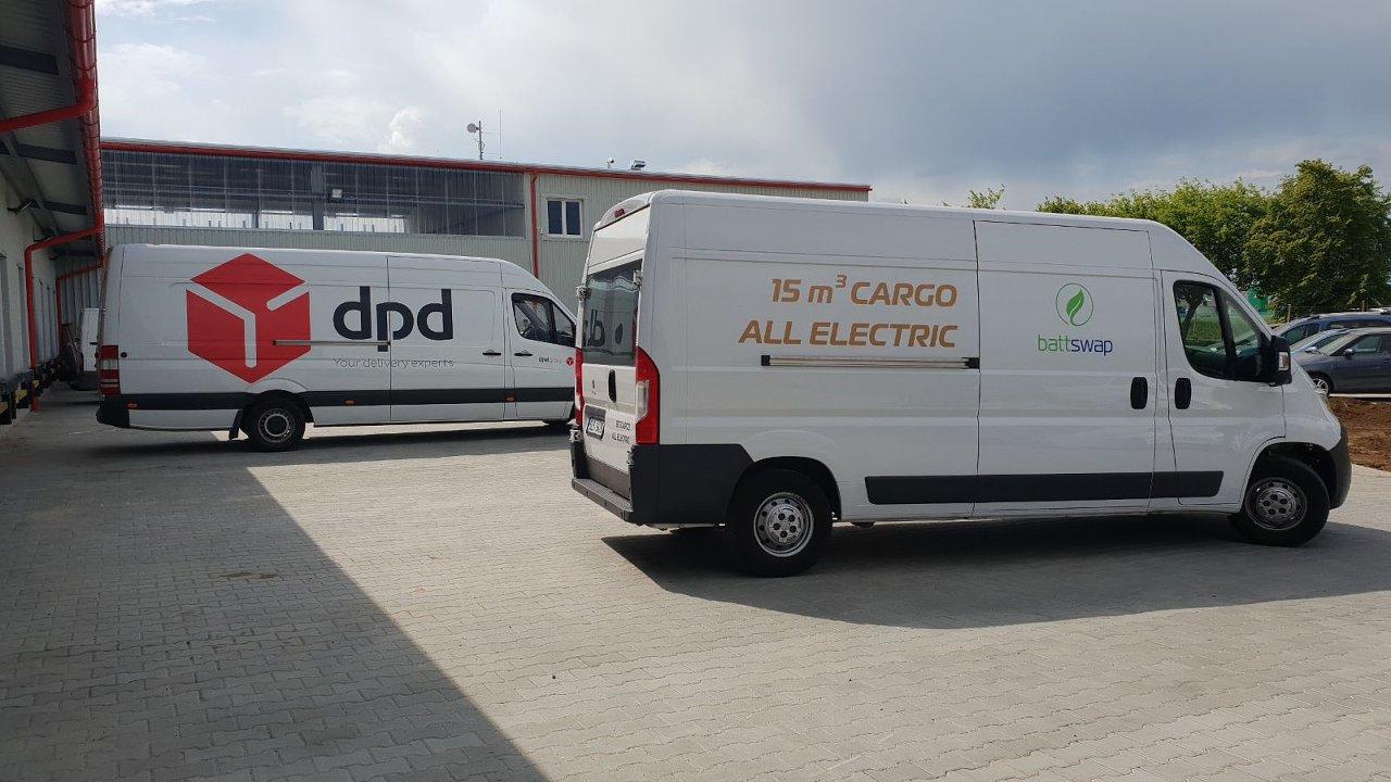 DPD zkouší novou dodávku na elektrický pohon