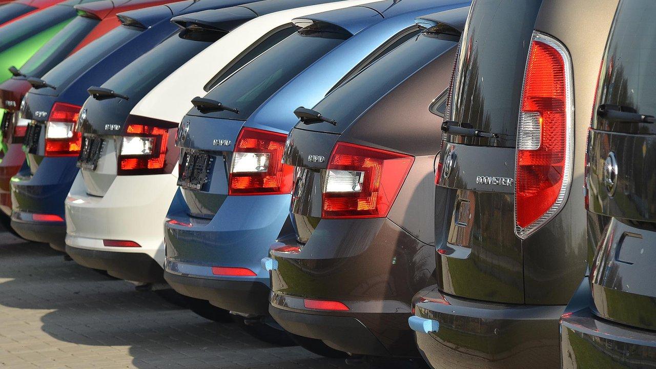 Automobilový průmysl si připsal téměř sedmiprocentní zvýšení produkce.