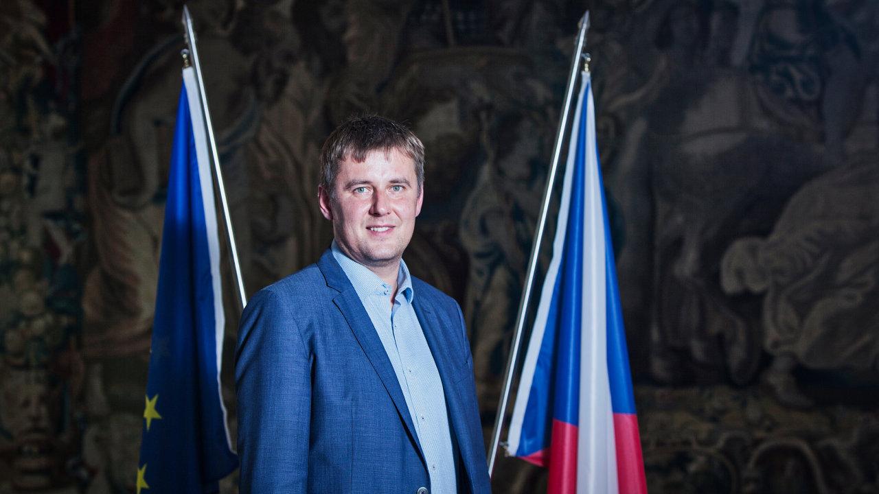 Nový ministr zahraničí Tomáš Petříček.