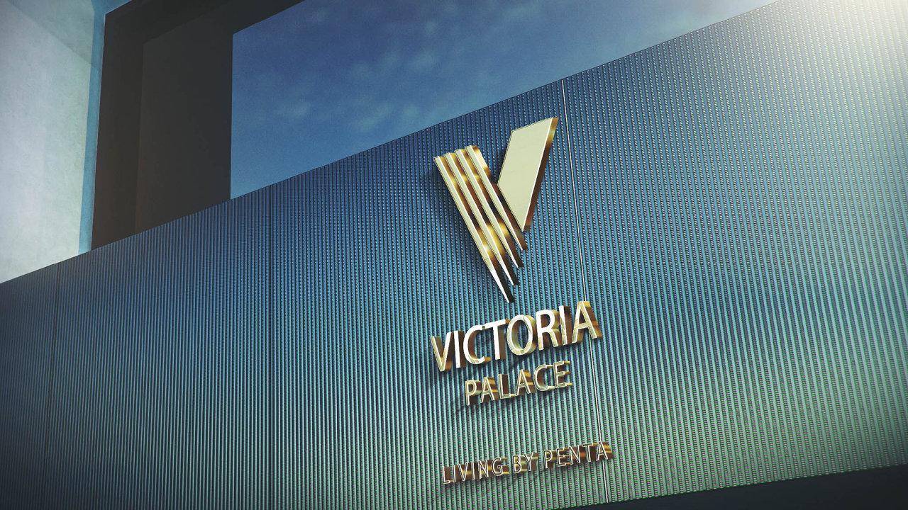 Budoucí podoba části Vítězného náměstí v Praze - projekt Victoria Palace