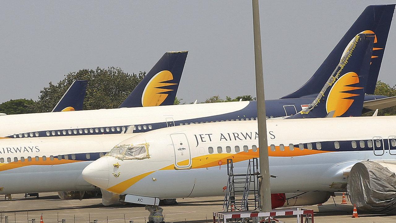 Indické aerolinky Jet Airways pozastavily všechny své lety.