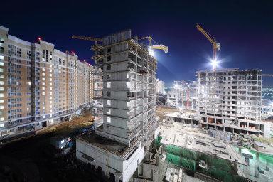 Metropole se v posledních letech potýká s bytovou krizí a rostoucími cenami bydlení. Vedení města chce stále rostoucí ceny bydlení mimo jiné řešit zrychleným povolováním staveb. - Ilustrační foto.