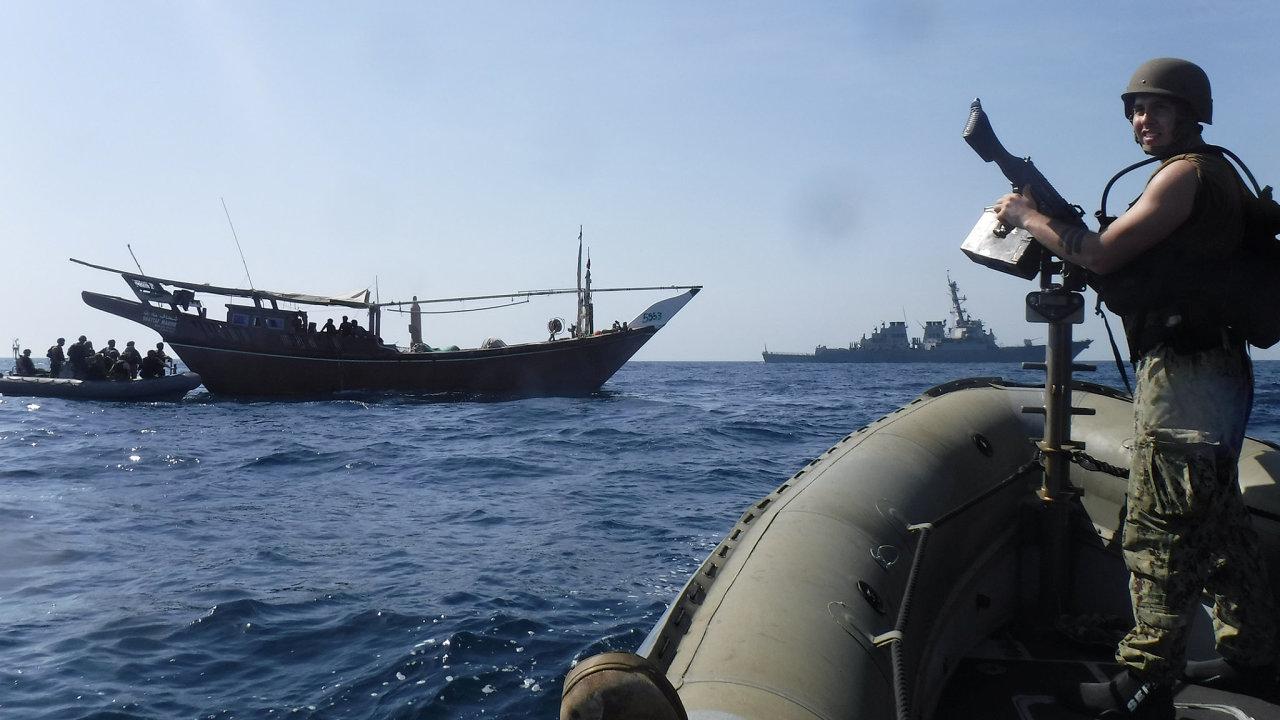 námořnictvo USA Perský záliv