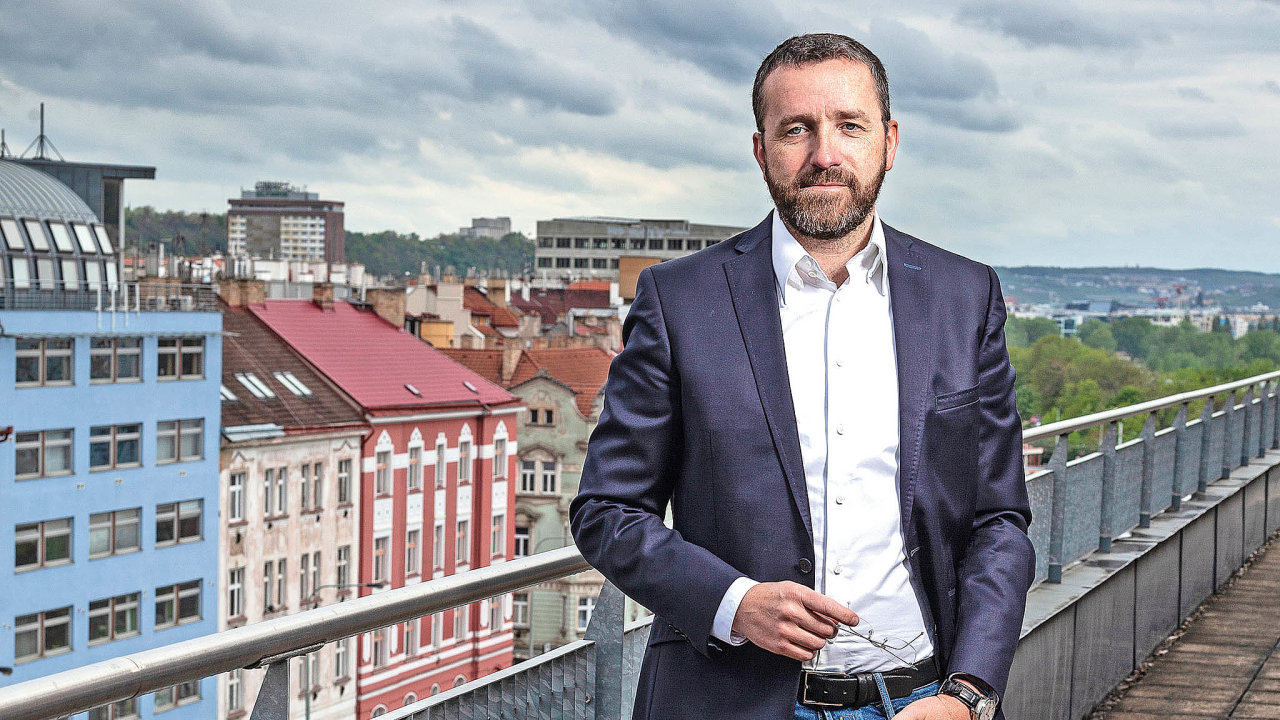 Ředitel společnosti SSI Group Jan Vodrážka