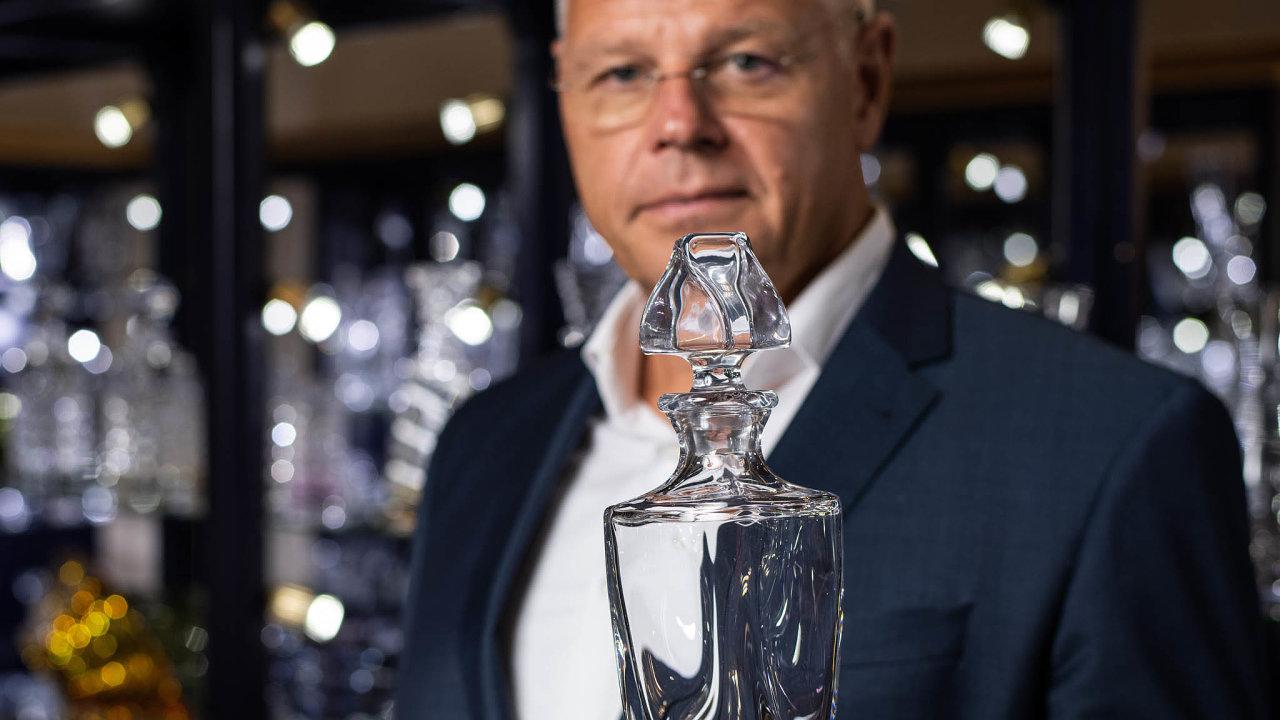 Lubor Cerva, podnikatel a majitel skláren Crystalite Bohemia