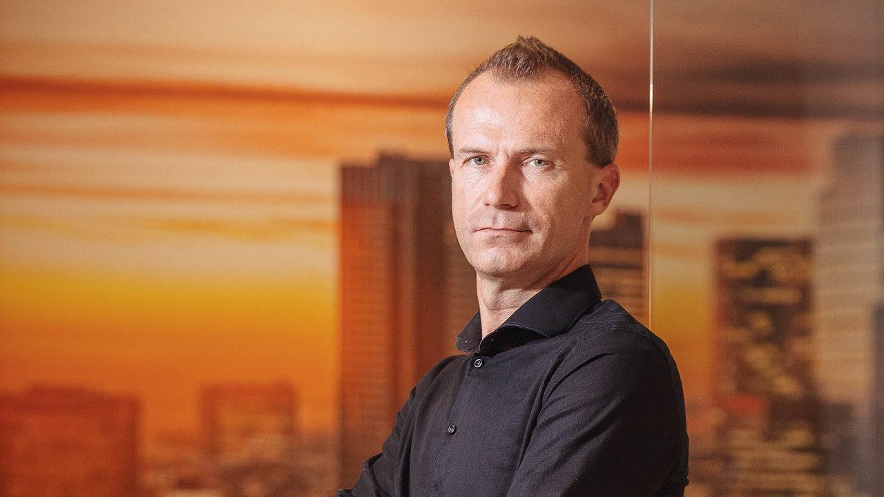 Manažer brokerské společnosti Cyrrus Petr Pelc