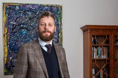 Ondřej Ditrych, ředitel Ústavu mezinárodních vztahů