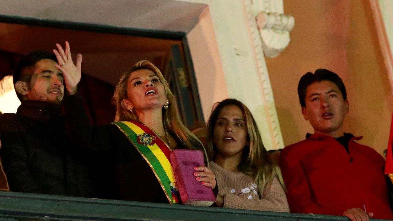 Bolívie, Aňézová, Morales
