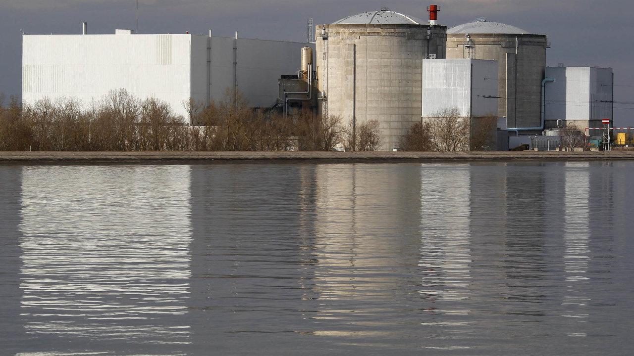 Ibez elektrárny veFessenheimu má Francie stále vprovozu 56reaktorů v18 jaderných elektrárnách. Celkem pokrývají asi 70 procent vyrobené elektrické energie vzemi, což je vůbec nejvíc nasvětě.