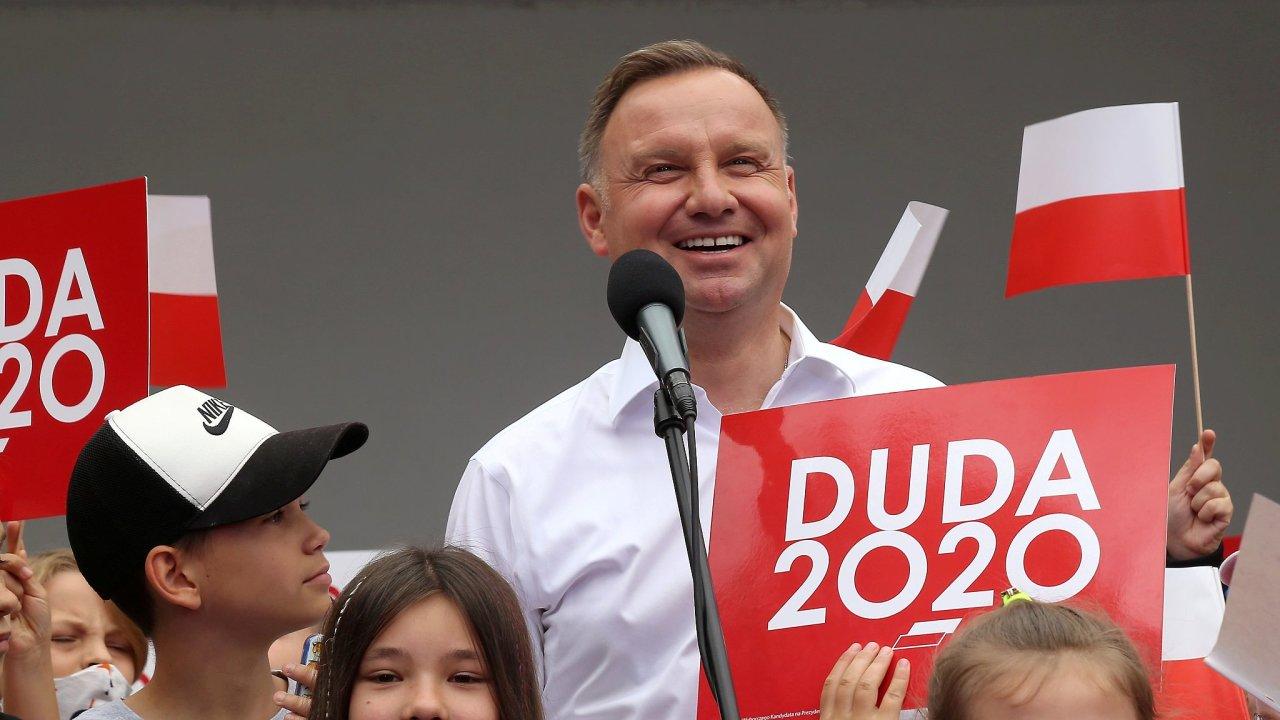 Andrzej Duda polsko prezidentské volby
