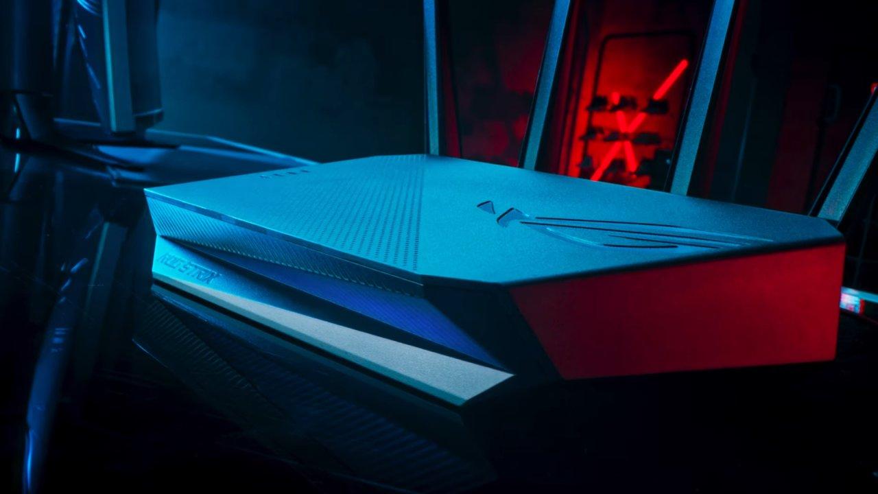 Rychlý internet a nadstandardní softwarové služby Asus nabízí už dlouho, teď přidal i RGB světýlka