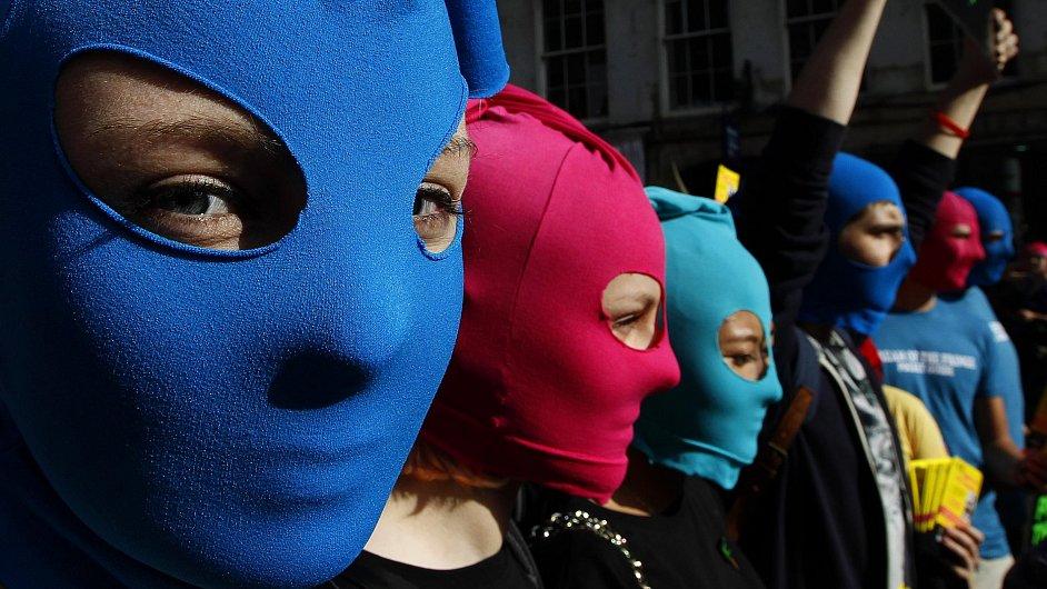 Protesty za osvobození Pussy Riot