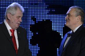 Miloš Zeman a Karel Schwarzenberg