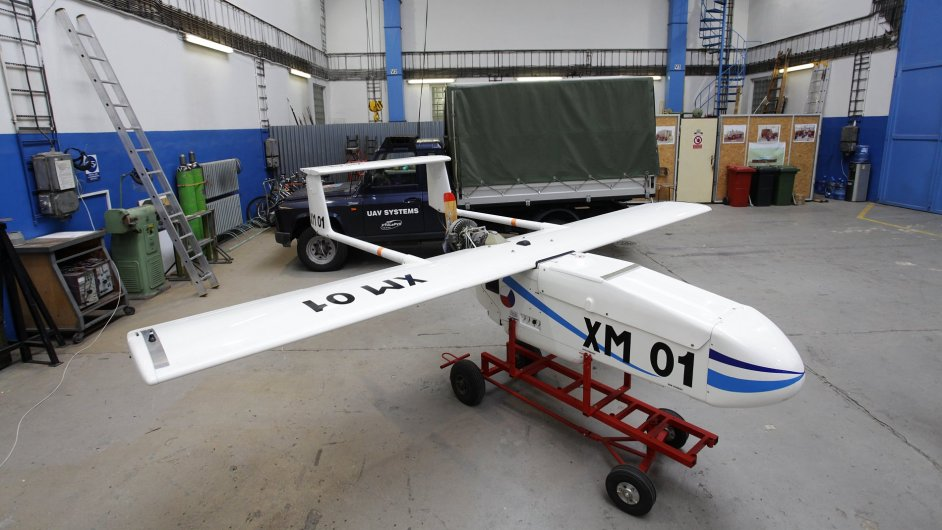 Bezpilotní letoun Sojka
