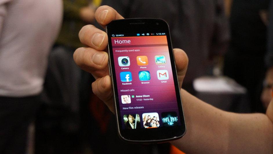 Mobilní systém Ubuntu Phone