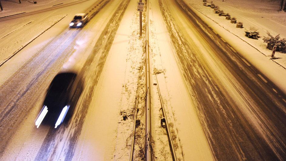 Česko zapadlo sněhem