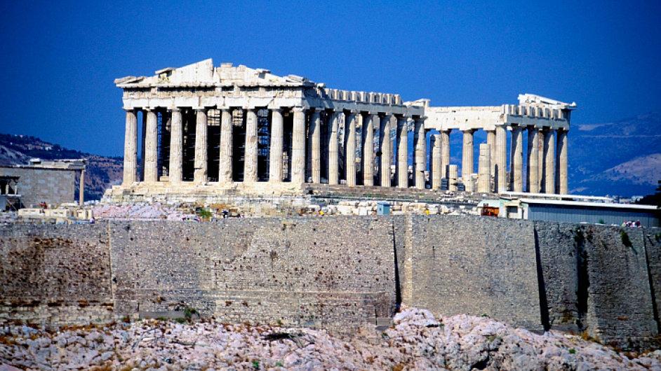 Řecko, Akropolis: Památka de facto dávno zaniklé civilizace.