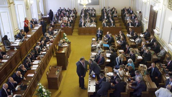 Poslanecká sněmovna - Ilustrační foto.