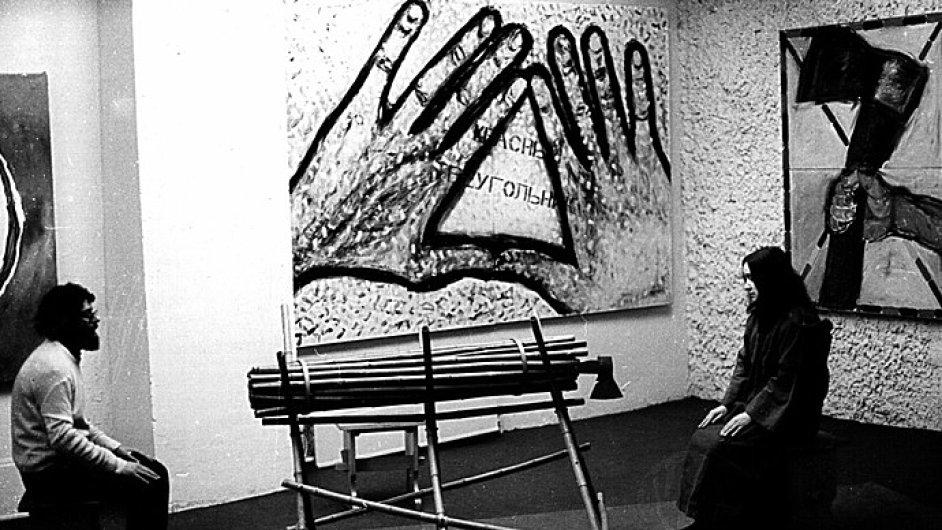 Práce skupiny TOTART byly vystaveny i v Muzeu moderního umění v Moskvě.